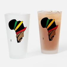 Rastafarian Drinking Glass