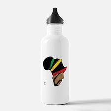 Rastafarian Water Bottle