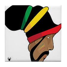 Rastafarian Tile Coaster