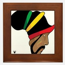 Rastafarian Framed Tile