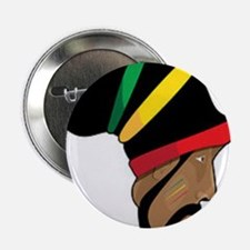 "Rastafarian 2.25"" Button"