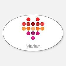 I Heart Marian Decal