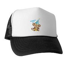 Birthday Boy Monkey Trucker Hat