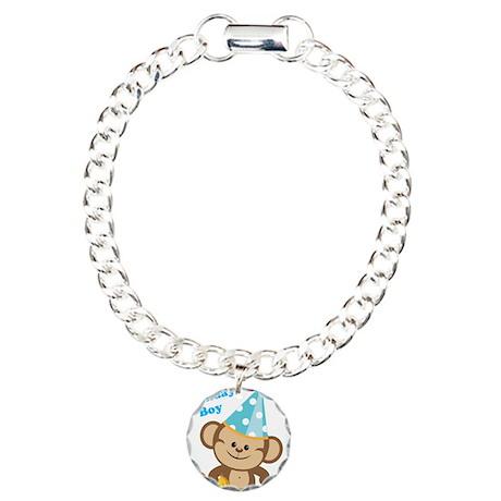Birthday Boy Monkey Bracelet