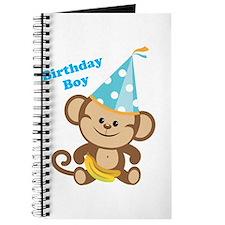 Birthday Boy Monkey Journal