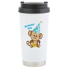 Birthday Boy Monkey Travel Mug