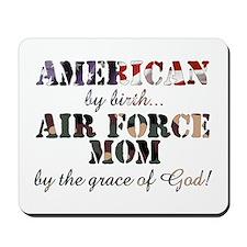 AF Mom by grace of God Mousepad