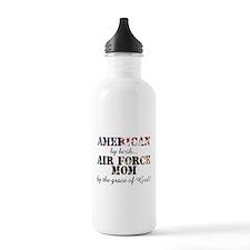 AF Mom by grace of God Water Bottle