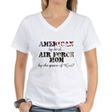 Air force Womens V-Neck T-shirts