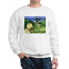 Wheaten by the ocean Sweatshirt