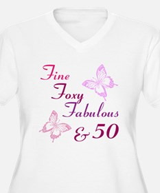 Fine 50 Plus Size T-Shirt