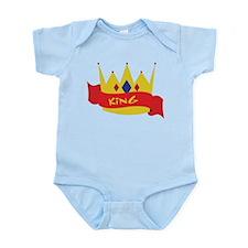King Crown Ribbon Body Suit