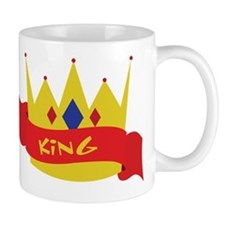 King Crown Ribbon Mug