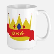 King Crown Ribbon Mug