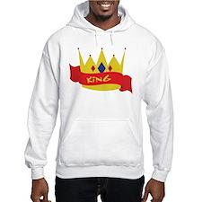 King Crown Ribbon Hoodie