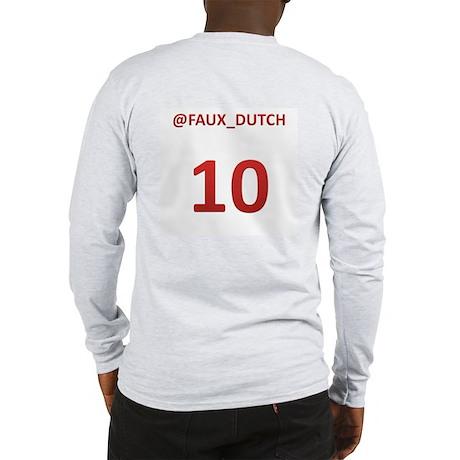 Faux Dutch Long Sleeve T-Shirt