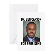 BEN CARSON Greeting Card