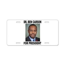 BEN CARSON Aluminum License Plate
