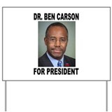 Dr ben carson president 2016 Yard Signs