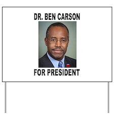 BEN CARSON Yard Sign
