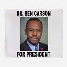 BEN CARSON Throw Blanket