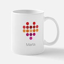 I Heart Marta Mug
