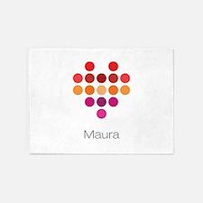 I Heart Maura 5'x7'Area Rug