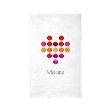 I Heart Maura 3'x5' Area Rug