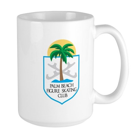 Palm Beach FSC Shield Logo - smaller Large Mug