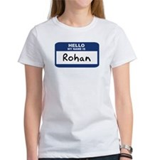 Hello: Rohan Tee