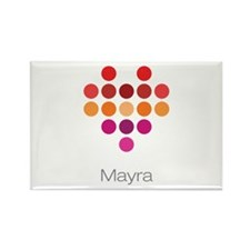 I Heart Mayra Rectangle Magnet