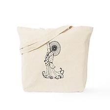 Kimono Squid Tote Bag