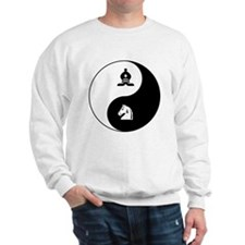 Bishop-Knight yin yang Sweatshirt