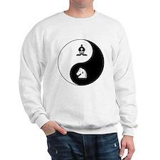 Bishop-Knight yin yang Sweatshirt