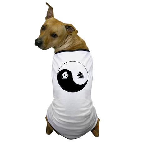 Knight-Knight yin yang Dog T-Shirt