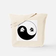 Knight-Knight yin yang Tote Bag