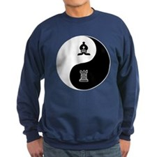Bishop-Rook yin yang Sweatshirt