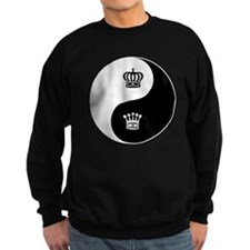 King-Queen yin yang Sweatshirt