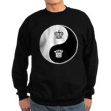 King-Queen yin yang Sweatshirt