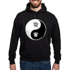 King-Queen yin yang Hoodie