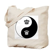 King-Queen yin yang Tote Bag