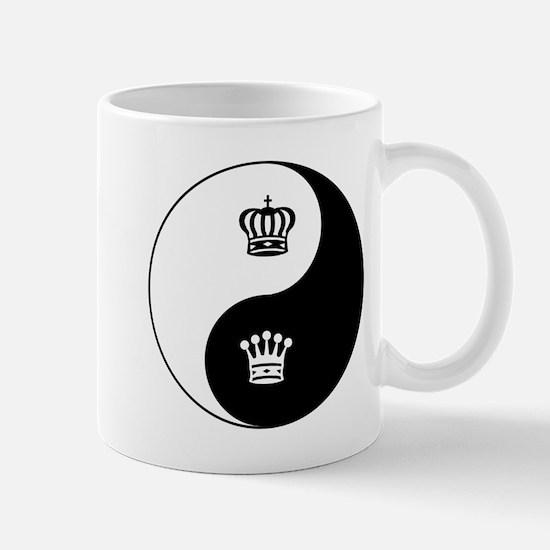King-Queen yin yang Mug