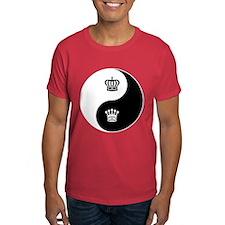 King-Queen yin yang T-Shirt