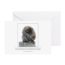 Ape Card Greeting Cards