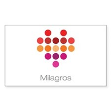 I Heart Milagros Decal