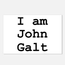 I am John Galt 01.png Postcards (Package of 8)