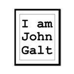 I am John Galt 01.png Framed Panel Print