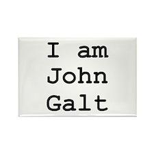 I am John Galt 01.png Rectangle Magnet