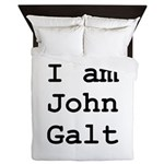 I am John Galt 01.png Queen Duvet
