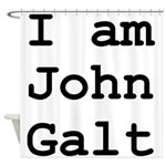 I am John Galt 01.png Shower Curtain
